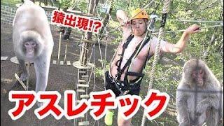 """新アスレチック""""NOZARU""""に行ったら野猿に襲われかけたwww thumbnail"""