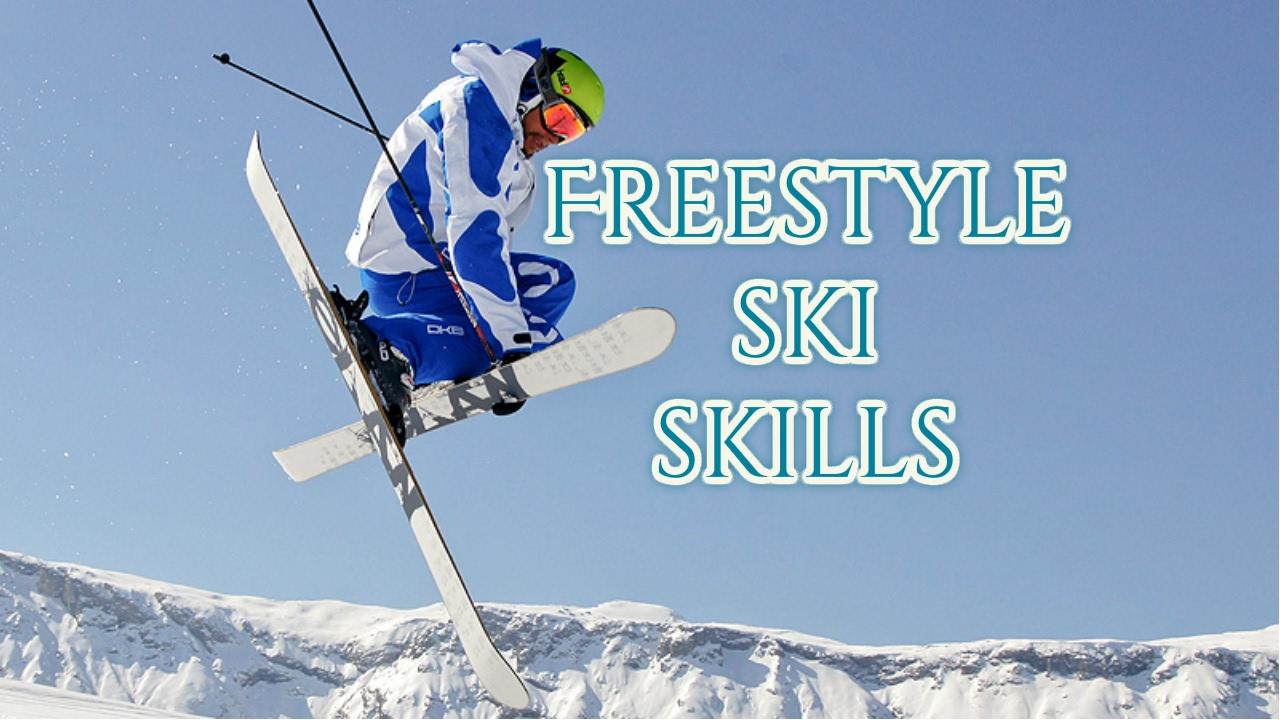 Freestyle Ski SKILLS - YouTube