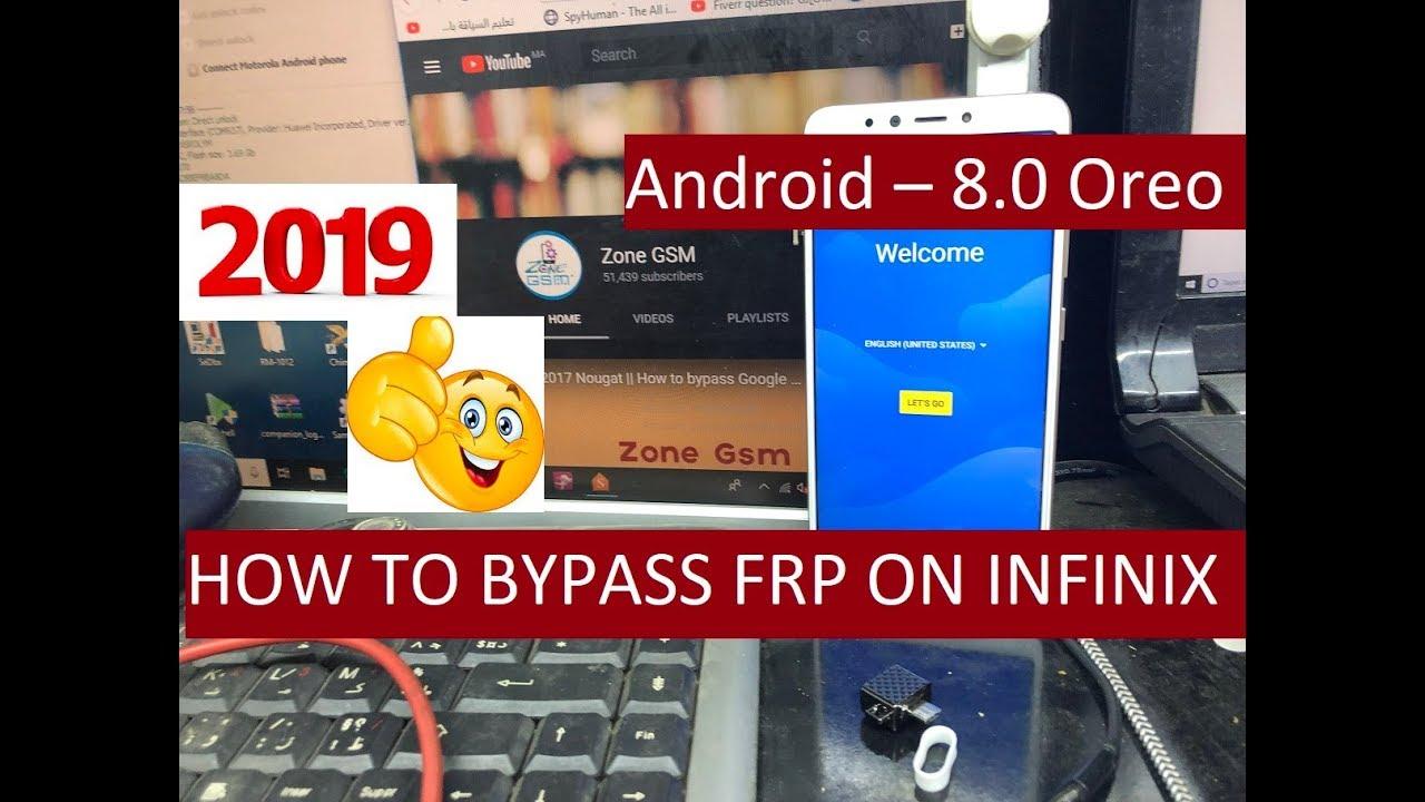 Infinix X624 Frp Bypass