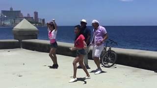 Dimitri Pitou y Ruben Paz en tournage à Cuba