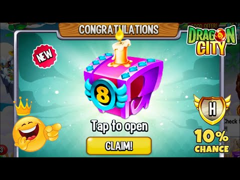 Dragon City - Unlocked x1 BIRTHDAY Chest for 400 GEMS OFFER! 😍