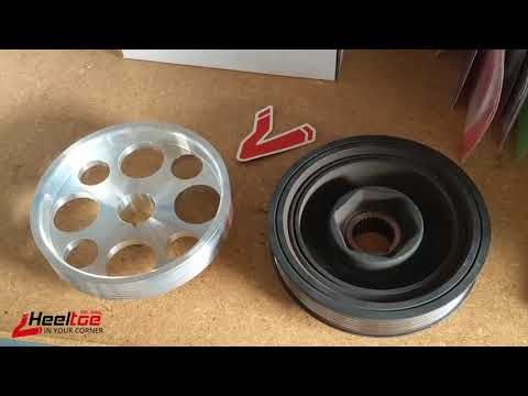 Heeltoe's Take On Alloy Crank Pulleys for Honda/Acura Engines