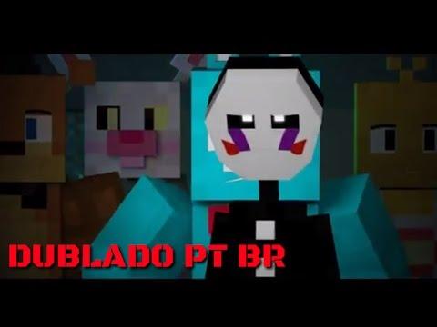The Puppet Song  FNAF Minecraft   Dublado