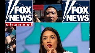 Andrew Yang Teaches AOC About the Freedom Dividend to the Dismay of Bernie Sanders