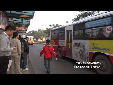 Long Bien Bus station near Hoam Kiem Ha Noi  Vietnam mp4