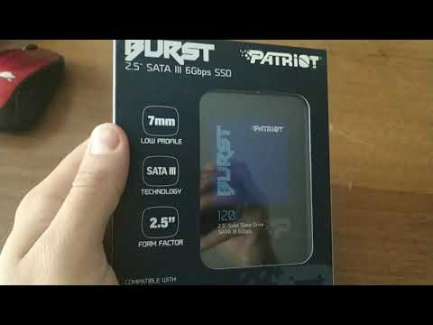 "Patriot Burst 120GB 2.5"" SATAIII TLC 3D (PBU120GS25SSDR)"