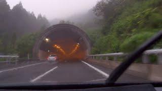 山形自動車道 下り 笹谷IC - 笹谷トンネル - 山形蔵王IC [4k 車載動画 2014/07] Z28