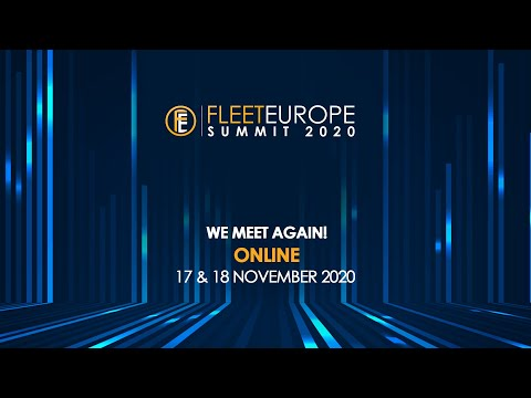 Fleet Europe Summit 2020: We meet again on 17 and 18 November!