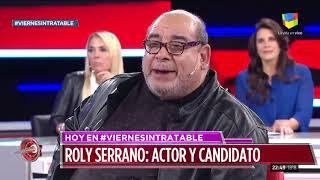 Roly Serrano en Intratables (19/07/19)