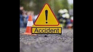 Traffic accident at G.P.O Chowk Mall road