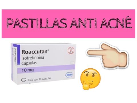 pastillas contra el acne