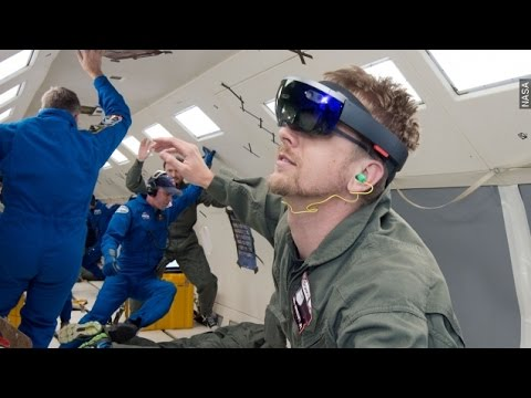 NASA Taps Microsoft For Latest Augmented Reality Tests