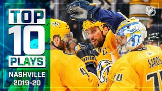 Top 10 Predators Plays of 2019-20 ... Thus Far | NHL