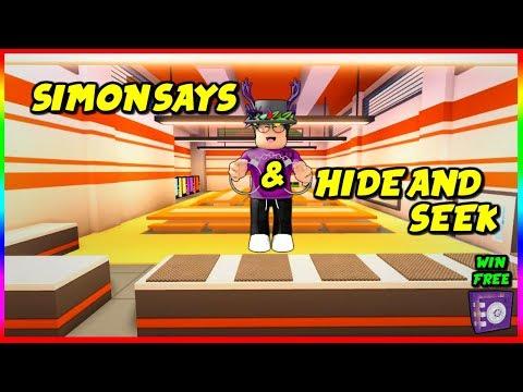 ROBLOX JAILBREAK SIMON SAYS AND HIDE AND SEEK!