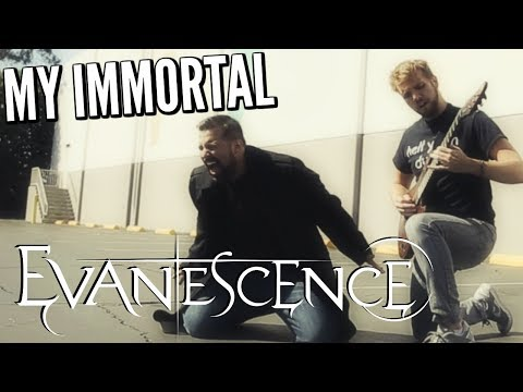 My Immortal - Evanescence - Cover by Caleb Hyles (feat. RichaadEb)