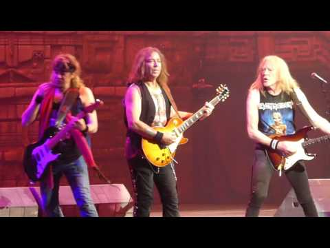 """The Trooper"" Iron Maiden@Wells Fargo Center Philadelphia 6/4/17"