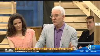 Steve Martin and Edie Brickell preview Bright Star - KFMB TV