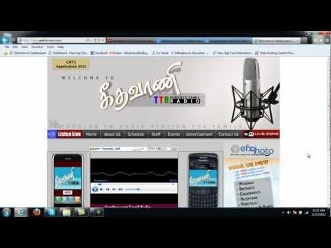 Zavier Toronto Tamil Radio Announcment