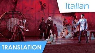 Notre Dame de Paris | Belle (Italian) Lyrics & Translation