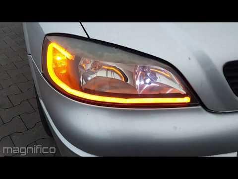Astra MK4 G Switchback LED Demo.