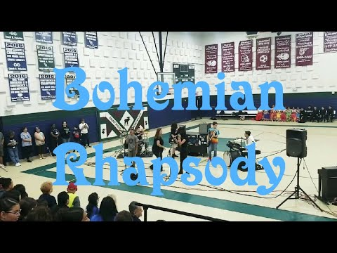 QUEEN - BOHEMIAN RHAPSODY | Preformed At The MMS Talent Show