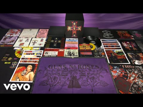 Guns N' Roses – Appetite For Destruction – Locked N' Loaded (Timelapse Unboxing)