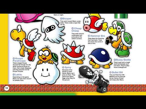 The official 'Super Mario Bros ' encyclopedia is here