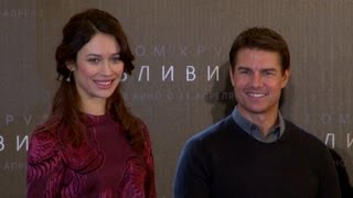 Том Круз и Ольга Куриленко привезли в Москву «Обливион»