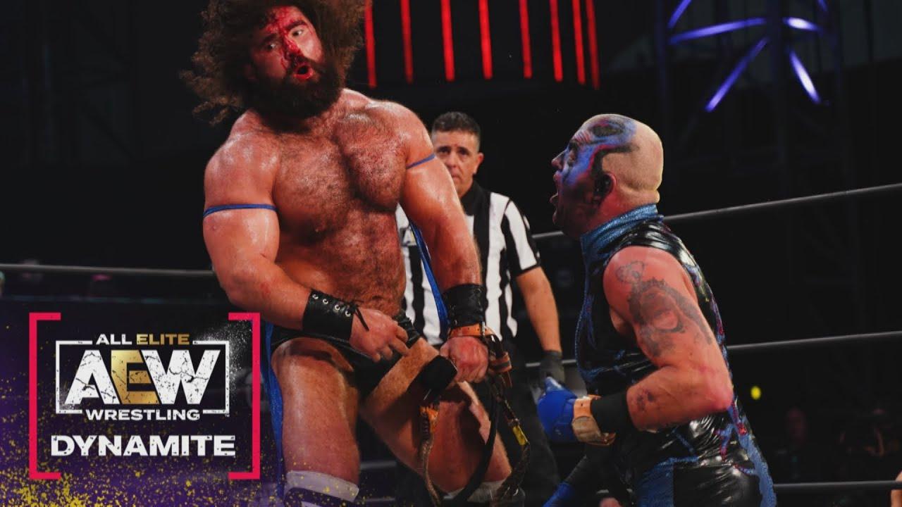 It Wasn't Pretty! Who Won the Bullrope Match? AEW Friday Night Dynamite, 6/4/21