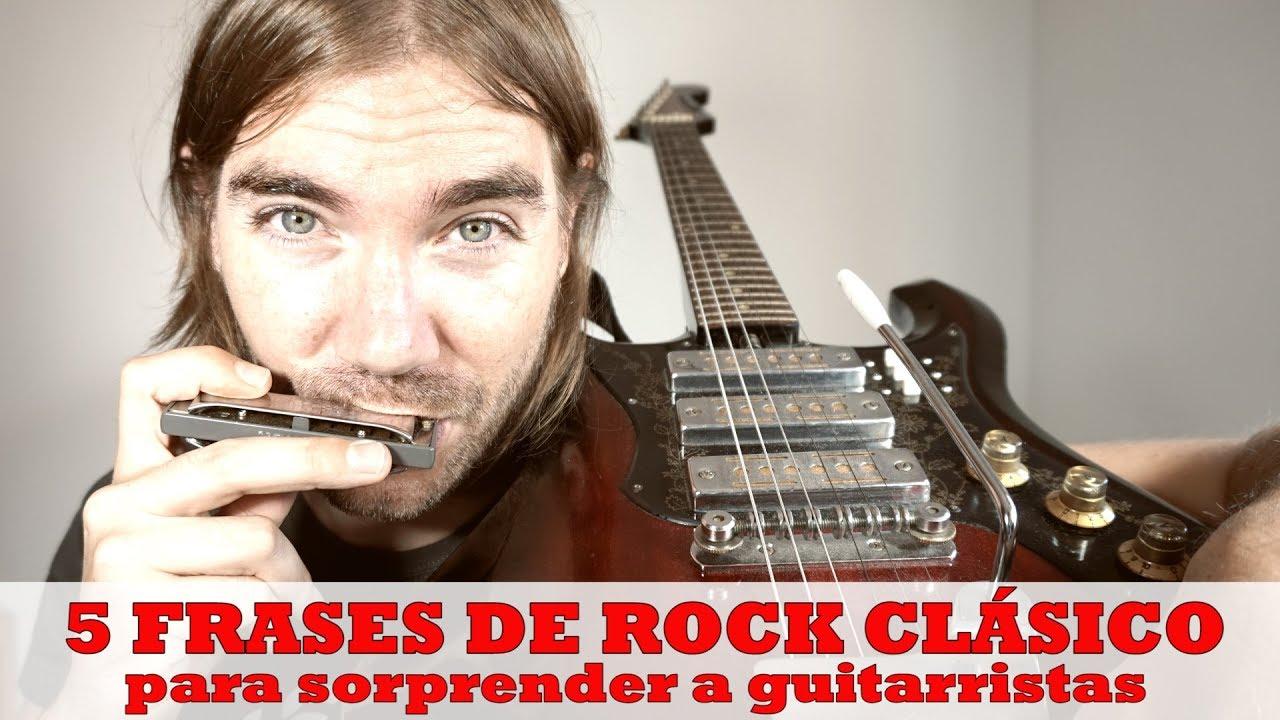 5 Frases Rock Con Armónicausando La Escala De Blues Con Armónica De Do C