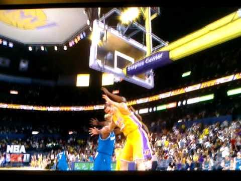 NBA2k11 Lakers vs. Wizards