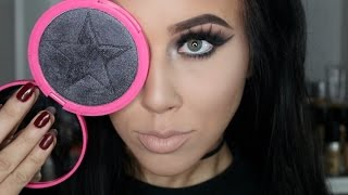 ONYX ICE Skinfrost from Jeffree Star | Black Highlighter | Demo of Multi-use!