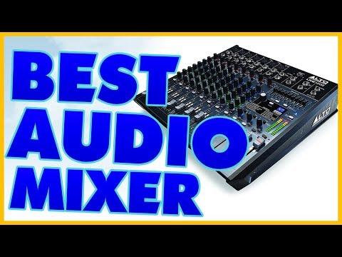 10 Best Audio Mixer Reviews 2017