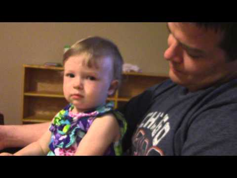Toddler gives hilarious 'Death Stare'