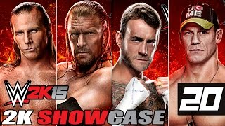 WWE 2K15 - 2K Showcase - Let
