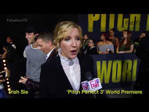 Director: Trish Sie At The 'Pitch Perfect 3' World Premiere On FabTV