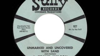 j frank wilson unmarked and uncovered with sand