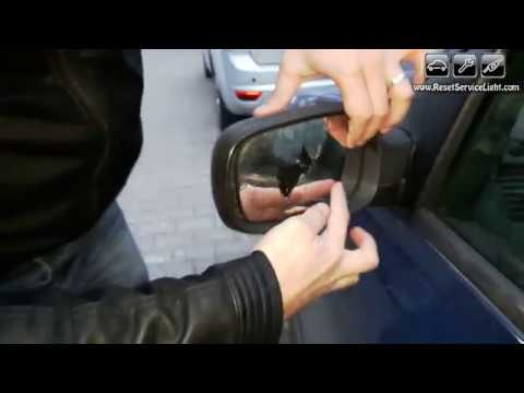 Replace Wing Non Heated Mirror Glass Renault Megane Ii