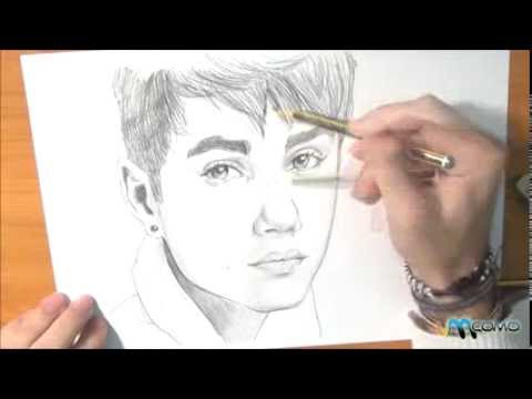 como desenhar o justin bieber   youtube