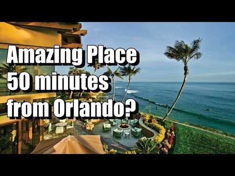 Do you know Cocoa Beach? 50 minutes from Orlando!