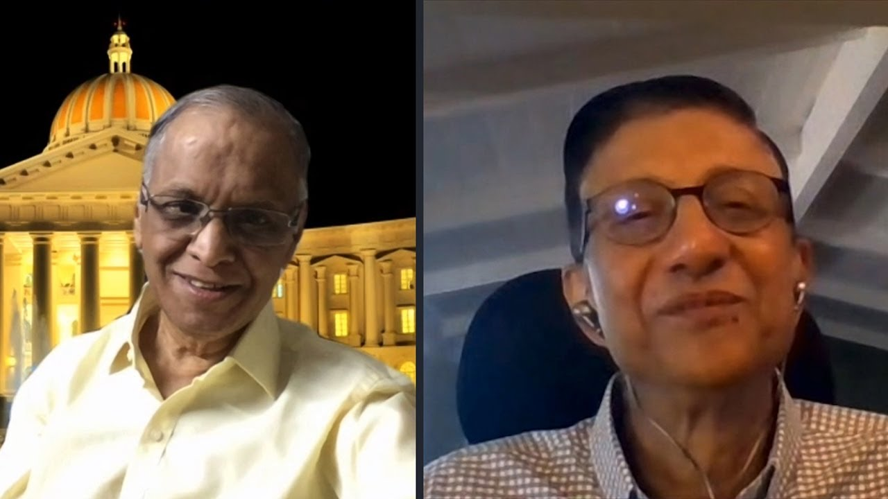 Download Technology for Change with Narayana Murthy and Siva Sivaram - Recap