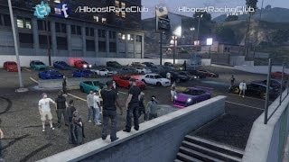 Grand Theft Auto V Online (PS4) | Street Stance Meet | Sentinel XS, Cruise, Drags & More