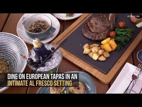 Dusk Restaurant & Bar: Panoramic Views and European Tapas in Singapore