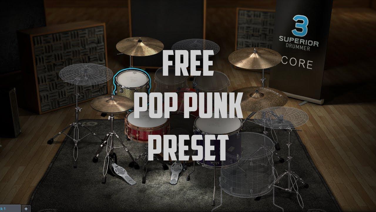 superior drummer 3 punk presets