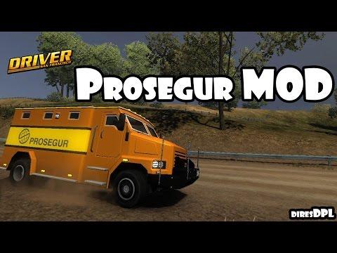 Driver San Francisco Mods - Prosegur Mod Gameplay (VanDoorn Carson 3.8)