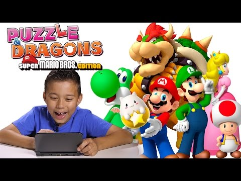 PUZZLE & DRAGONS Super Mario Bros. Edition 3DS ACTION! thumbnail