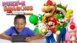 PUZZLE & DRAGONS Super Mario Bros. Edition 3DS ACTION!