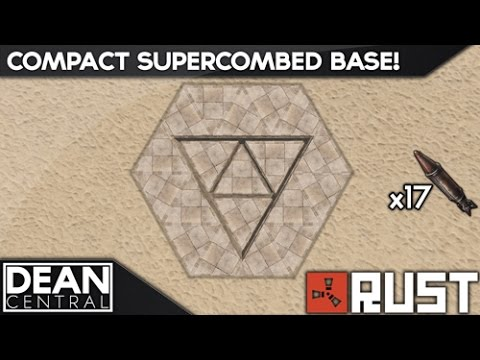 Compact Supercombed Base | Advanced Rust Building #7