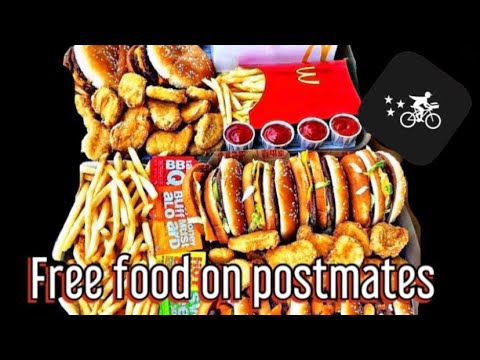 🍔HOW TO GET FREE FOOD ON POSTMATES🍕🌮