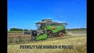 Koszenie rzepaku z pompą㋡ Pierwszy taki kombajn na polskim YouTubie! 3x Fendt㋡